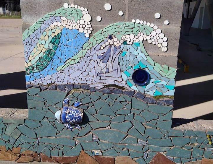 Intervencion mosaico claromeco