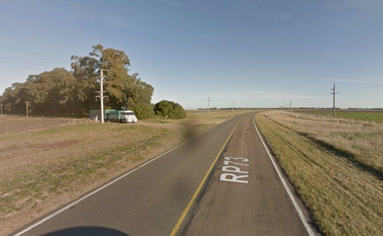 Curva de Olsen, Ruta 73